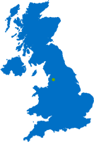 Corrigan Water position on UK Map icon