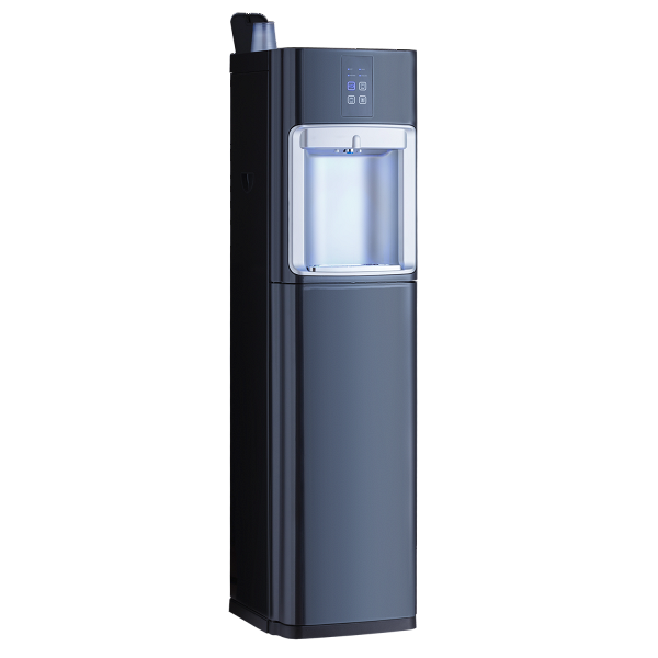 Mains fed water cooler with touch controls